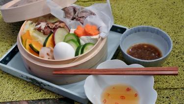 野菜とbeefの蒸し物