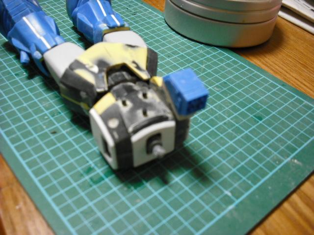 ラッコのガンプラ製作日記-水ザク 武器