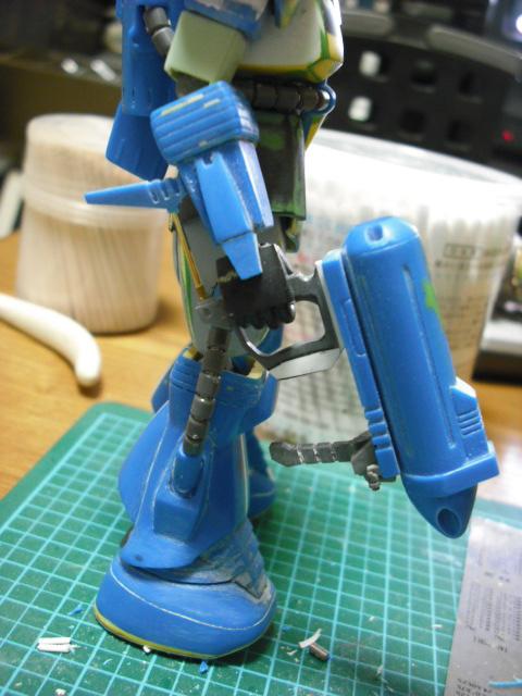 ラッコのガンプラ製作日記-武器