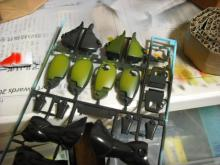 ラッコのガンプラ製作日記-グリーン塗装