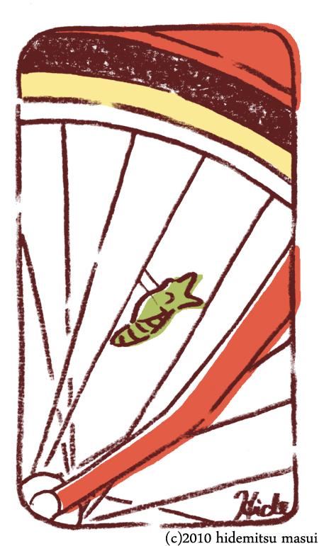 絵物語03「青虫と赤い自転車」b(450)
