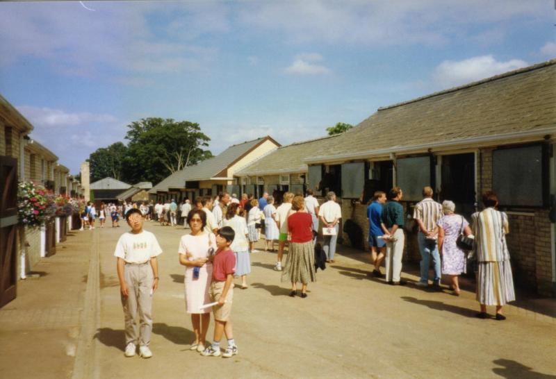 95年ニューマーケット馬房02