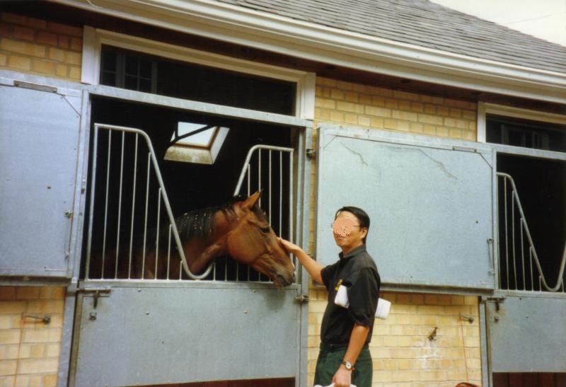 95年ニューマーケット馬房03