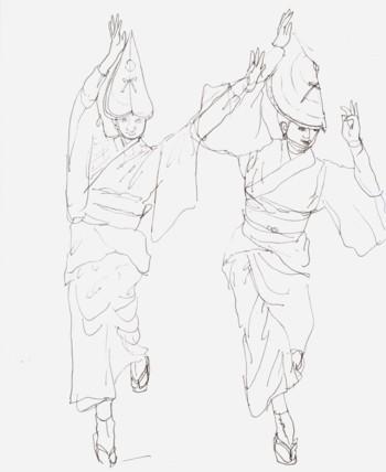 ブログ阿波踊り
