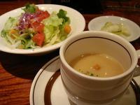 サラダ・スープ@素敵庵