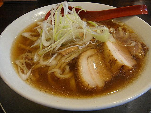 金町ラーメン(醤油)@金町製麺