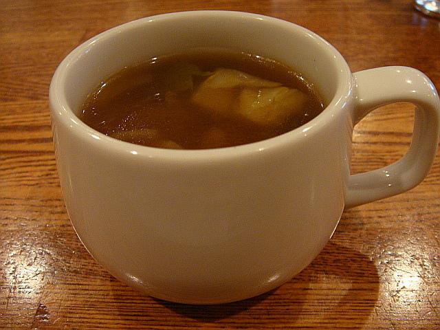 野菜スープ@レストラン サカキ