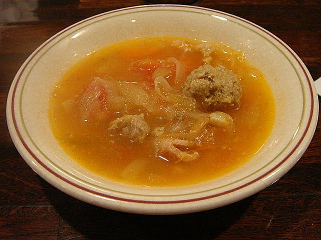 野菜スープ@レストラン吾妻