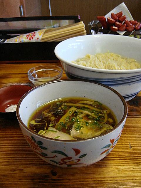 限定10食のつけ麺@飯田商店