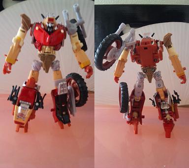 レックガーロボットモード