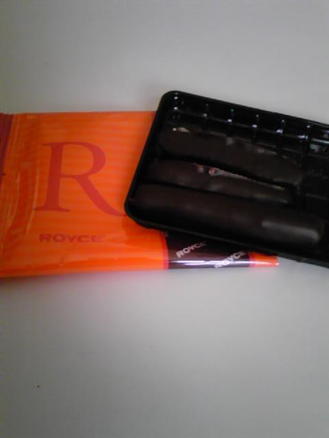 ロイズ・オレンジピールチョコ