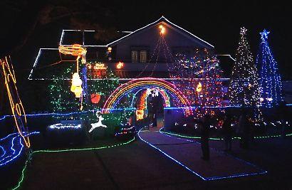 LEDイルミネーション高松の家-1