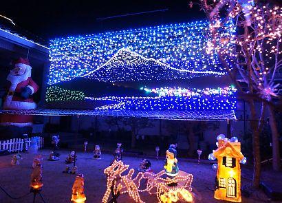 LEDイルミネーション高松の家-5