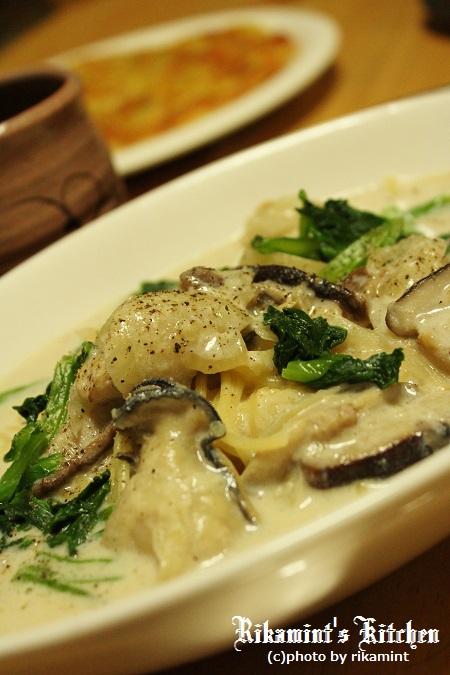 IMG_10・29牡蠣と椎茸のスープパスタ (1)