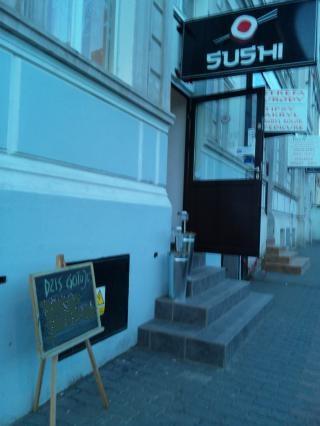 寿司バー入口