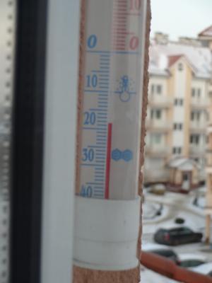マイナス二桁 気温