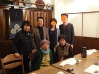 12 2013 日本滞在中 食事会