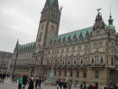 ハンブルグ 市庁舎