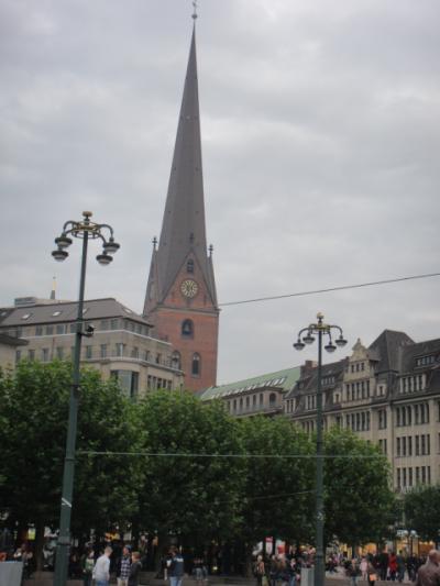 ハンブルグ st.petri 教会