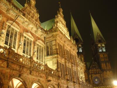ブレーメンの市庁舎