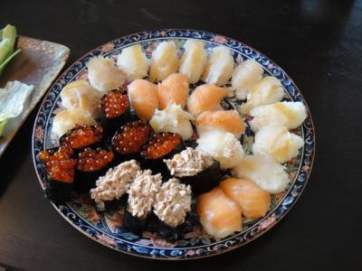 寿司パーティー  (にぎり)