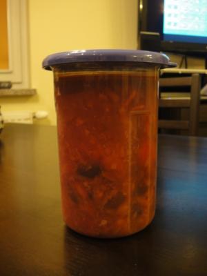カフェのお母さんの手作りスープ