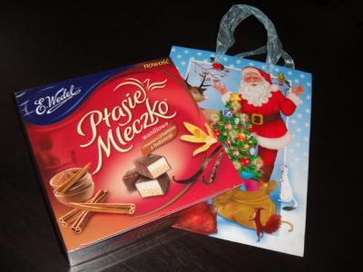 1 2012  カフェからもらったクリスマスプレゼント