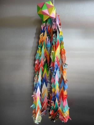 4  2012  100羽鶴