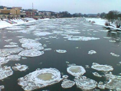 ポーランドの冬