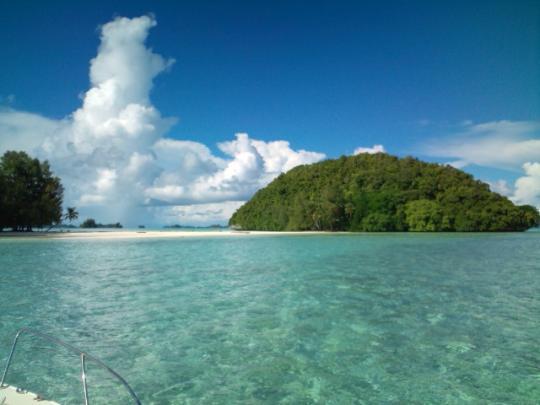 パラオのゲメリス島