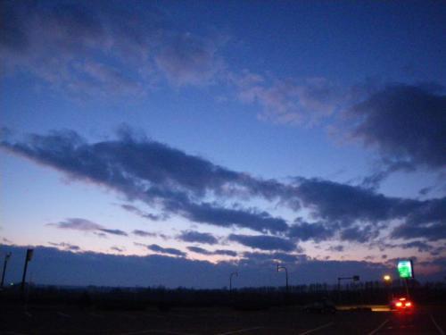 2010.11.20 夕焼け