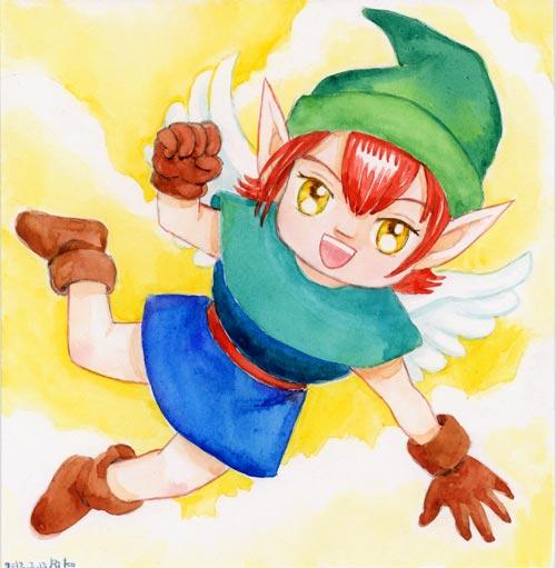空気の妖精さん