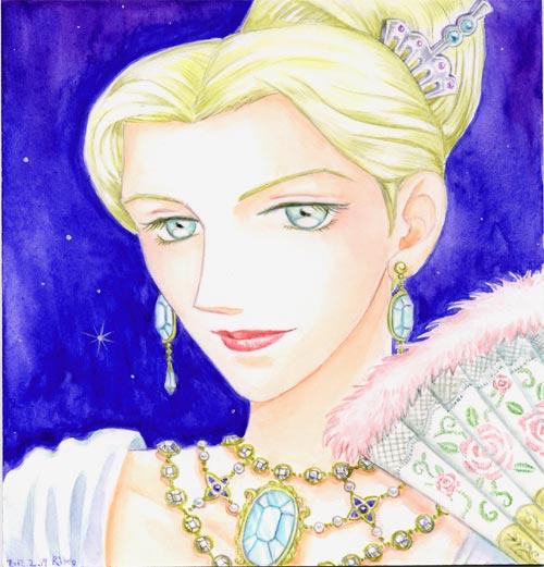 豪華な公爵夫人