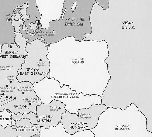 1984年の地図