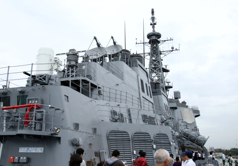 護衛艦ちょうかい7111015