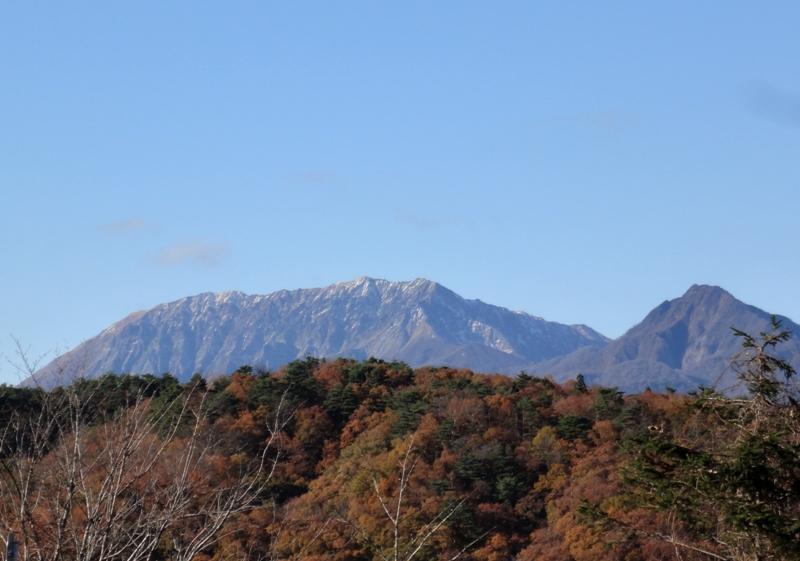 南側からの大山111126