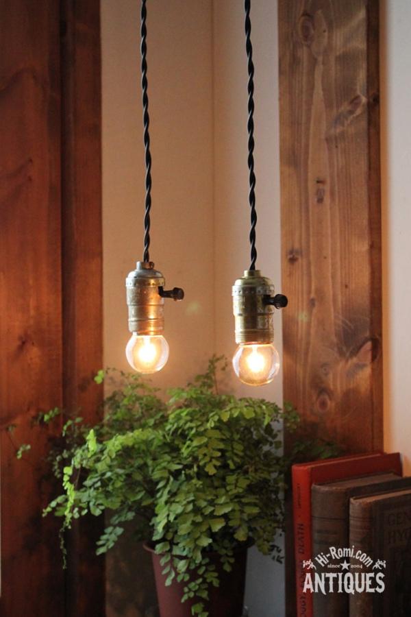 アルミソケットペンダントライトG1/アンティーク照明ランプ工業