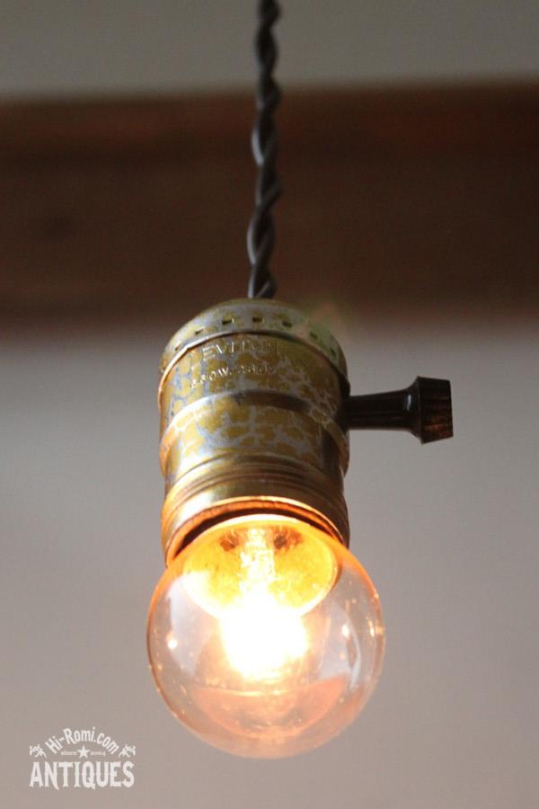 アルミソケットペンダントライトG2/アンティーク照明ランプ工業