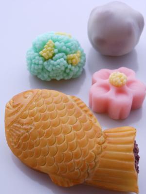 たい焼きと和菓子