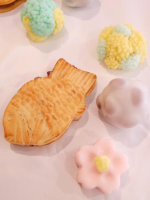 たい焼きと和菓子H