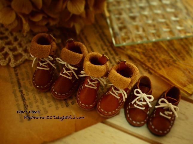 puti ショートブーツ65~68・紐靴6~7