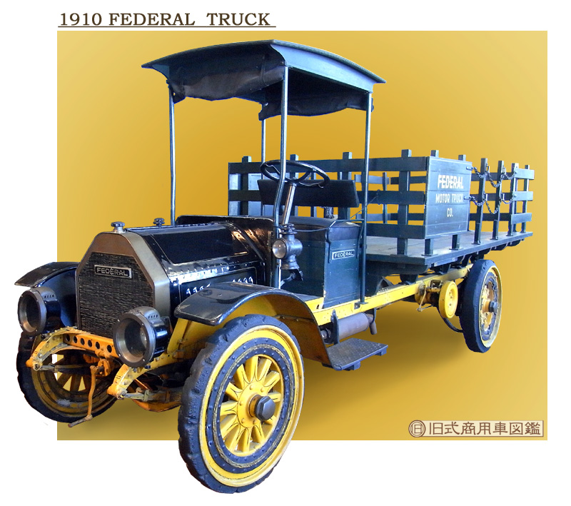 1910 Federal truck