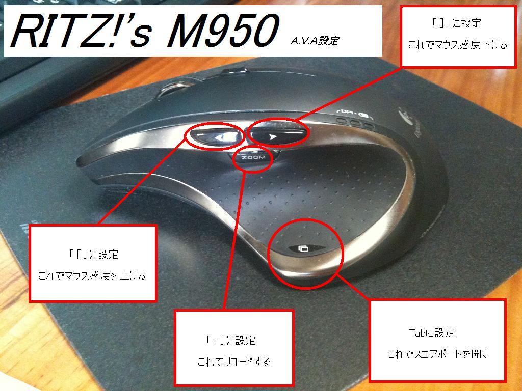 M950 AVA設定