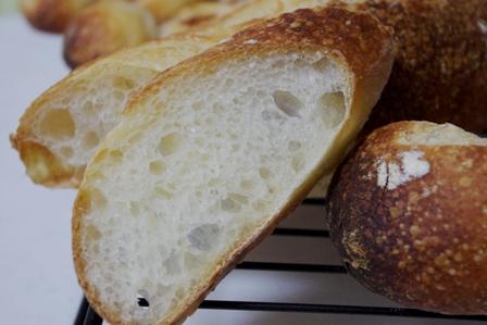 フランスパン内層