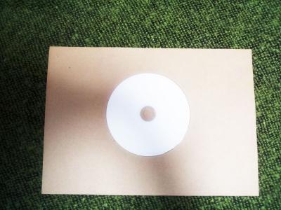 A4の紙でCDケース1