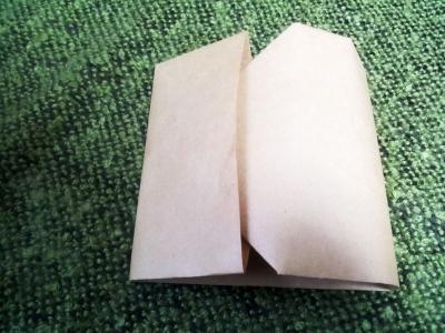 A4の紙でCDケース6