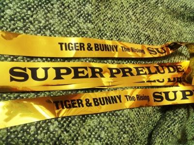 TIGER&BUNNY The Rising SUPER PRELUDE