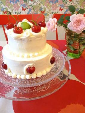 cherry cake×kastehelmi