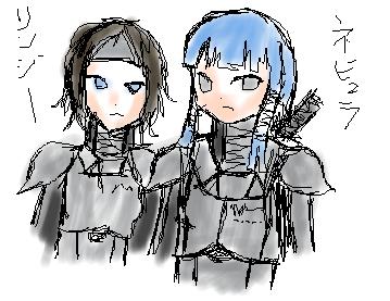 リンジーとネビュラ