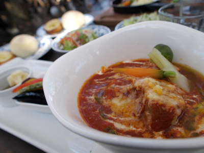 那須野ヶ原ポークトマトシチュー@Bakery & Cafe Restaurant PENNY LANE